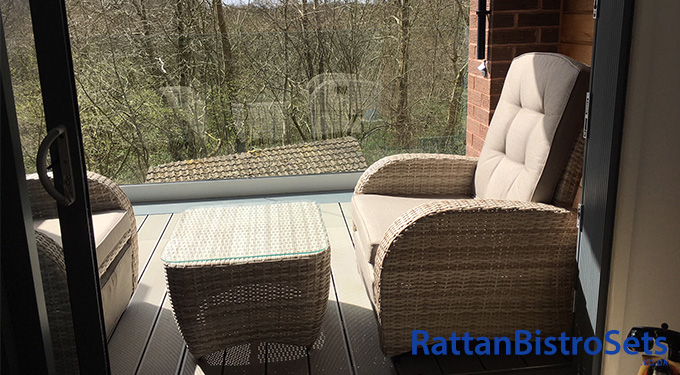 rattan balcony sets