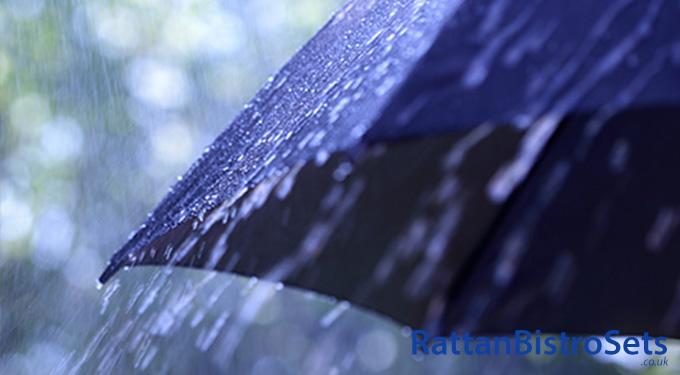 weatherproof rattan bistro sets